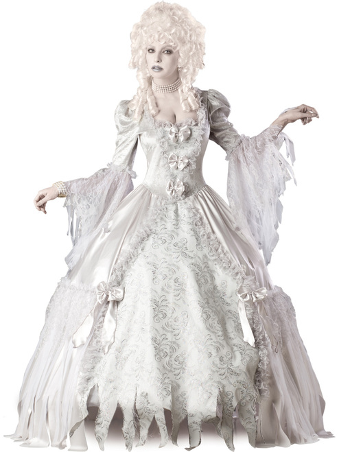 Ladies Deluxe Corpse Countess Ghost Costume