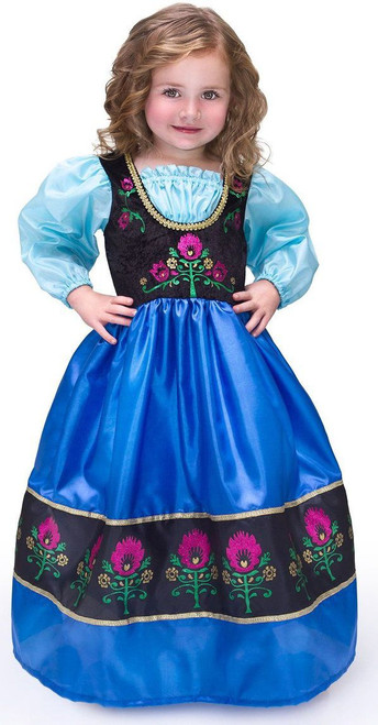 Scandinavian Princess Traveling Costume