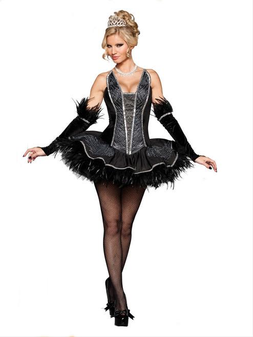 Seductive Swan Deluxe Ballerina Costume