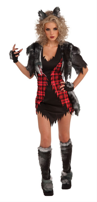 Cute She-Wolf Werewolf Halloween Costume