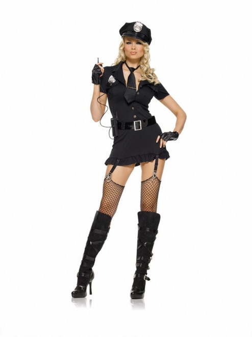 Dirty Cop Ladies Costume