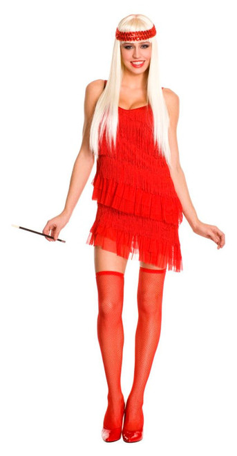 20s Red Hot Flapper Costume