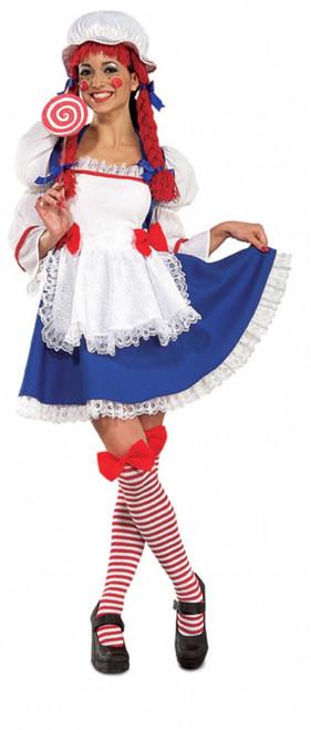 Rag Doll Adorable Ladies Costume