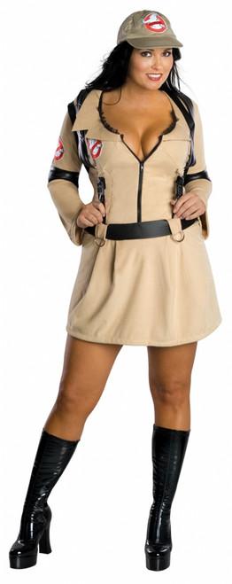 Ghostbusters Plus Size Ladies Costume