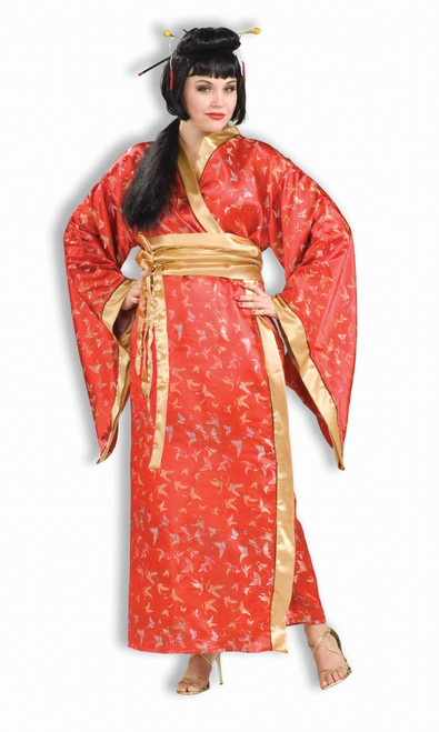 Madame Butterfly Ladies Plus Size Costume