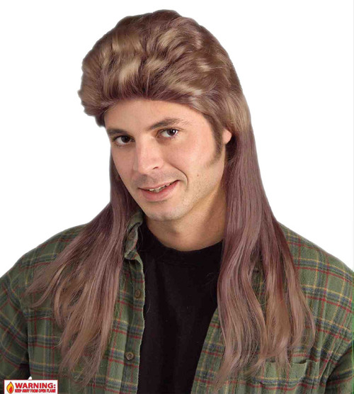 names for haircuts 80s brown mullet the costume shoppe 4232