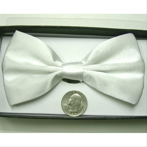 White Formal Bow Tie