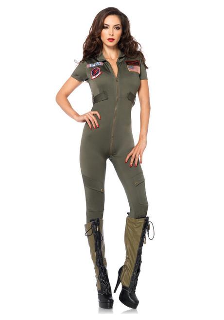 Deluxe Ladies Top Gun Flight Suit