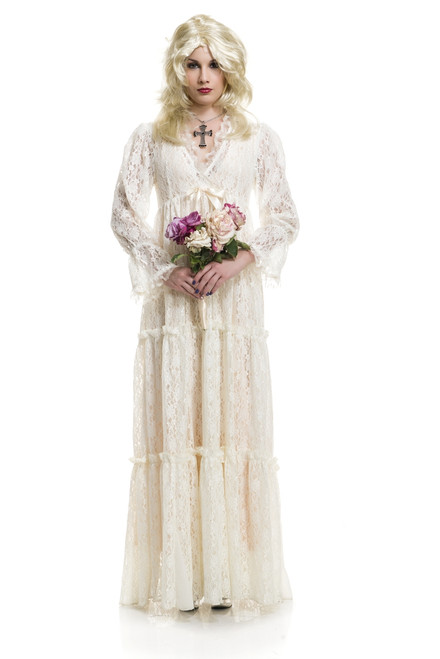 Lost Soul Lace Ghost Gown Costume