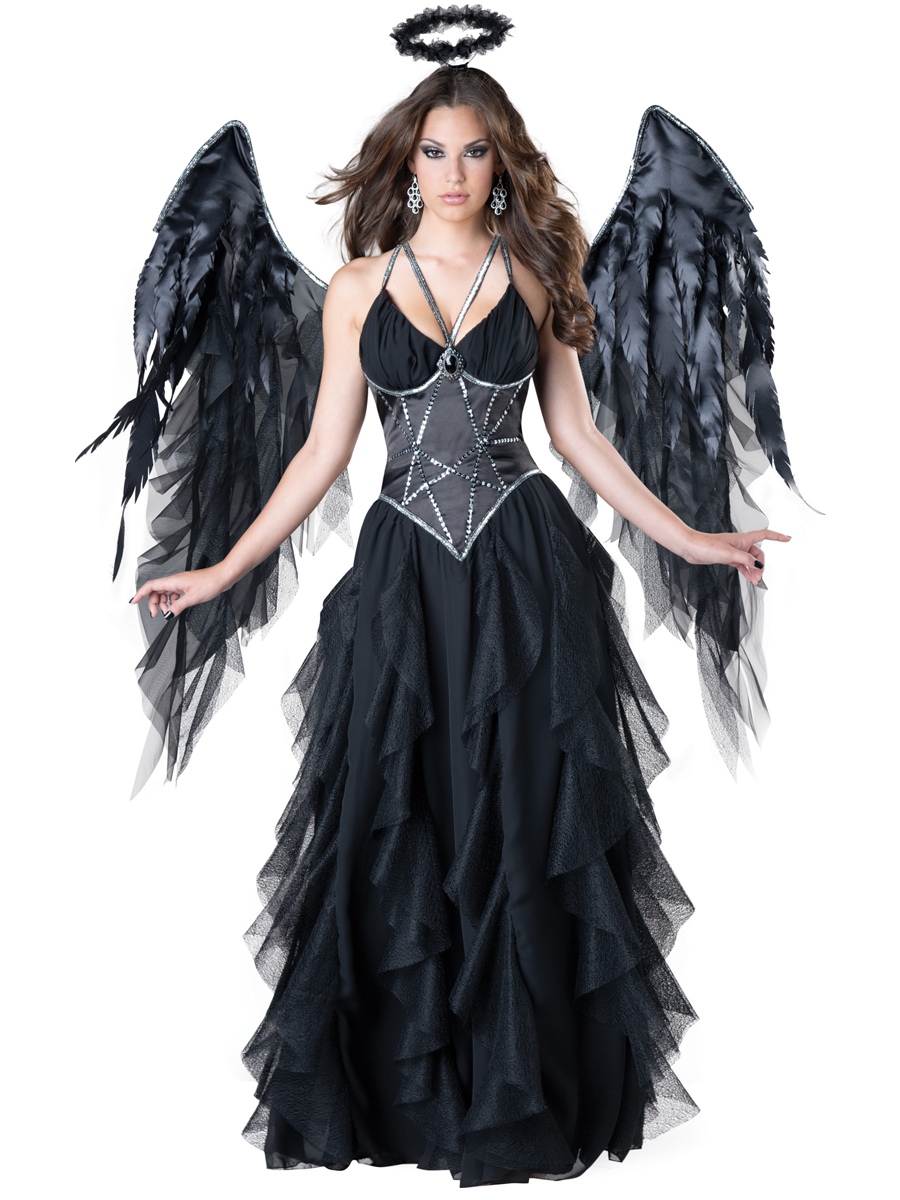 ladies dark angel costume - the costume shoppe