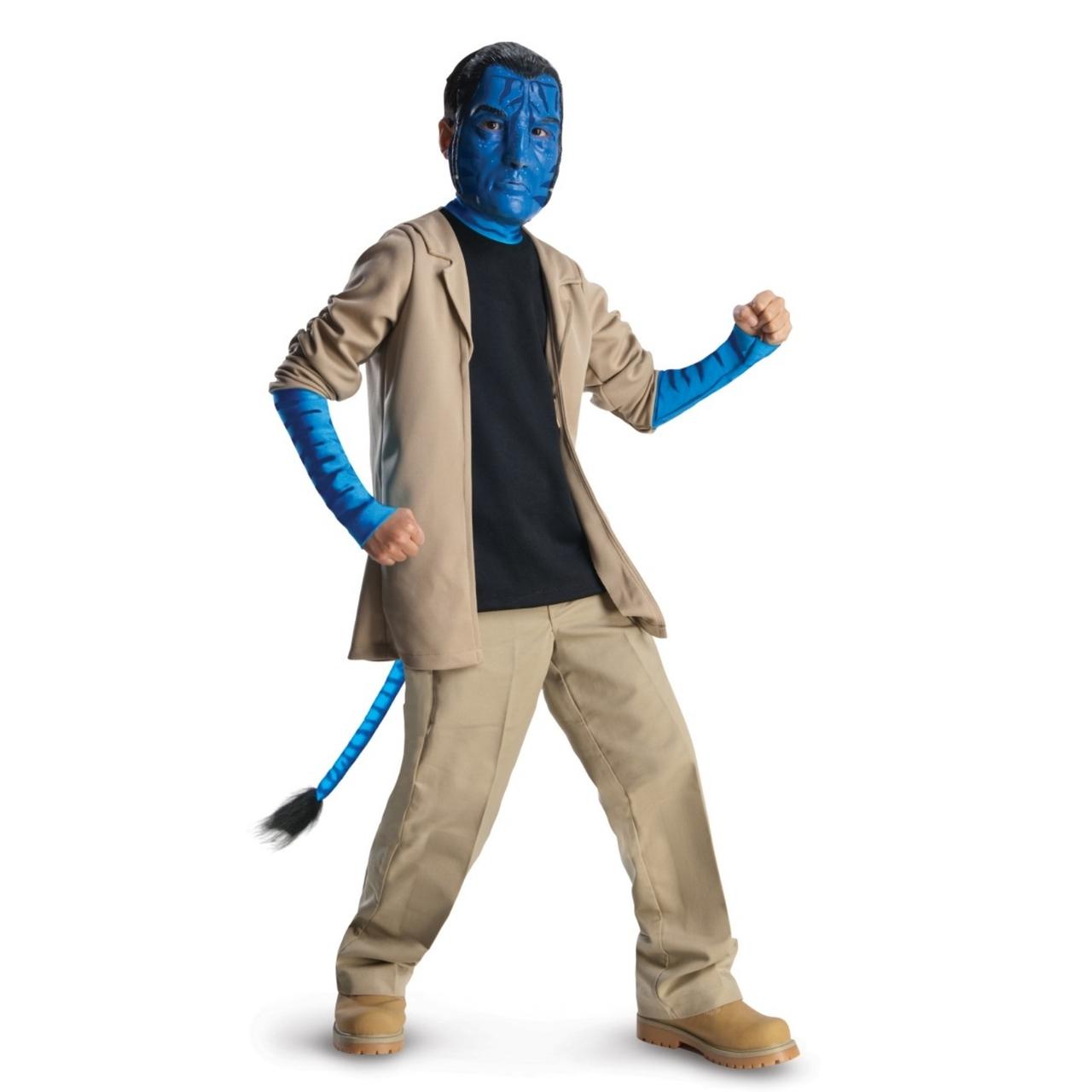 jake sully children's deluxe avatar costume - the costume shoppe