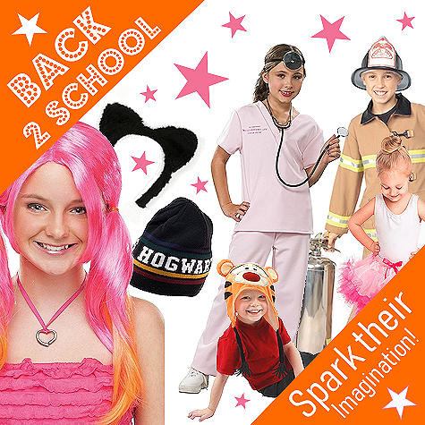 Back to School costume and accessory ideas!