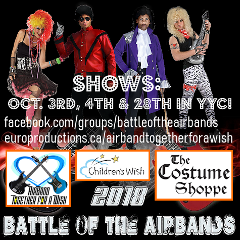 Battle of the Airbands Children's Wish Foundation Event