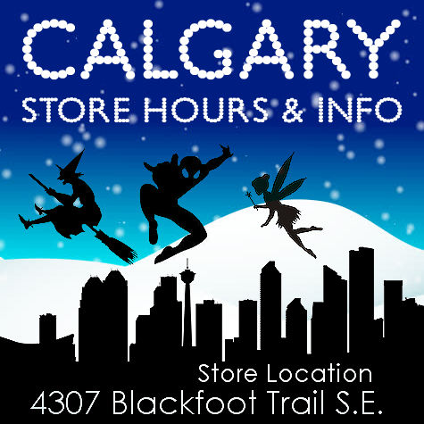 The Costume Shoppe Store Hours and Info, Calgary
