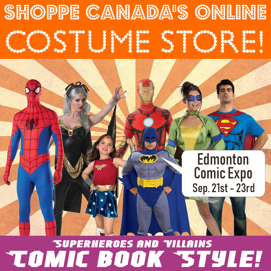 The Costume Shoppe Online Store   Buy Costumes Online! Free Shipping Available in Canada!