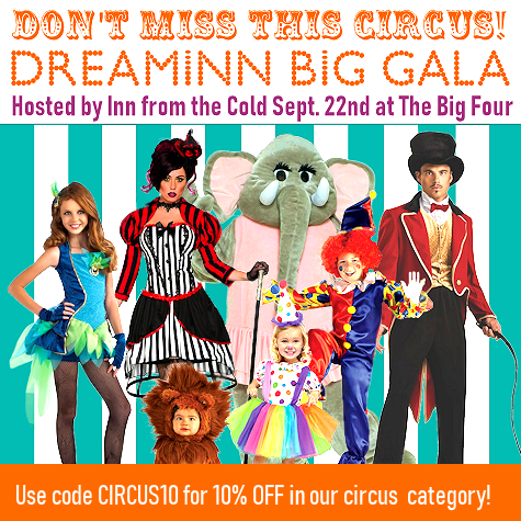 Circus Costumes and Accessories @The Costume Shoppe!