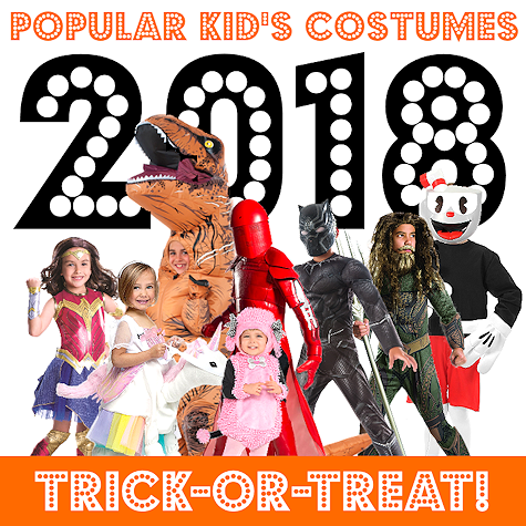 Popular Kid's Halloween Costumes 2018