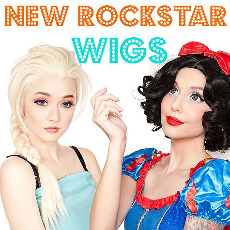 The Costume Shoppe | RockStar Wigs | Shop Online!