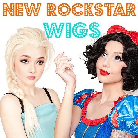 The Costume Shoppe | RockStar Wigs | Shop Online!