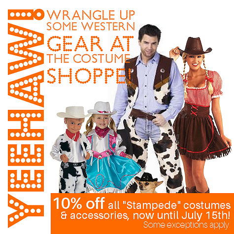 Stampede Costumes & Accessories | The Costume Shoppe Featured Costumes, Canada