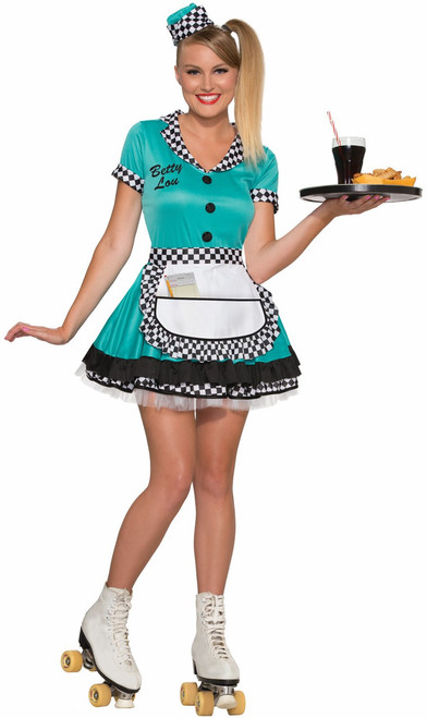 50s Betty Lou Diner Gal Costume The Costume Shoppe