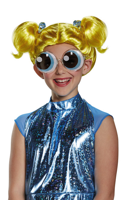 powerpuff girls bubbles childs wig the costume shoppe