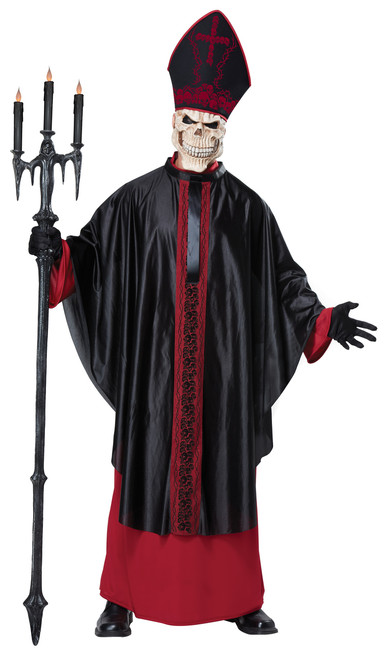 Black Mass Pope Men S Costume The Costume Shoppe