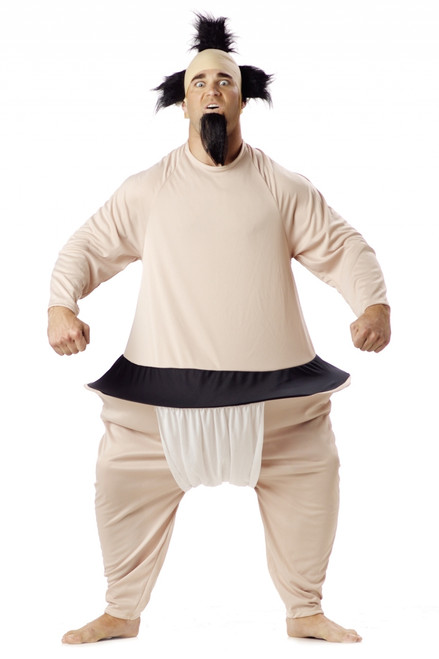 Sumo Wrestler Funny Halloween Costume  sc 1 st  The Costume Shoppe & Funny Sumo Wrestler Halloween Costume - The Costume Shoppe