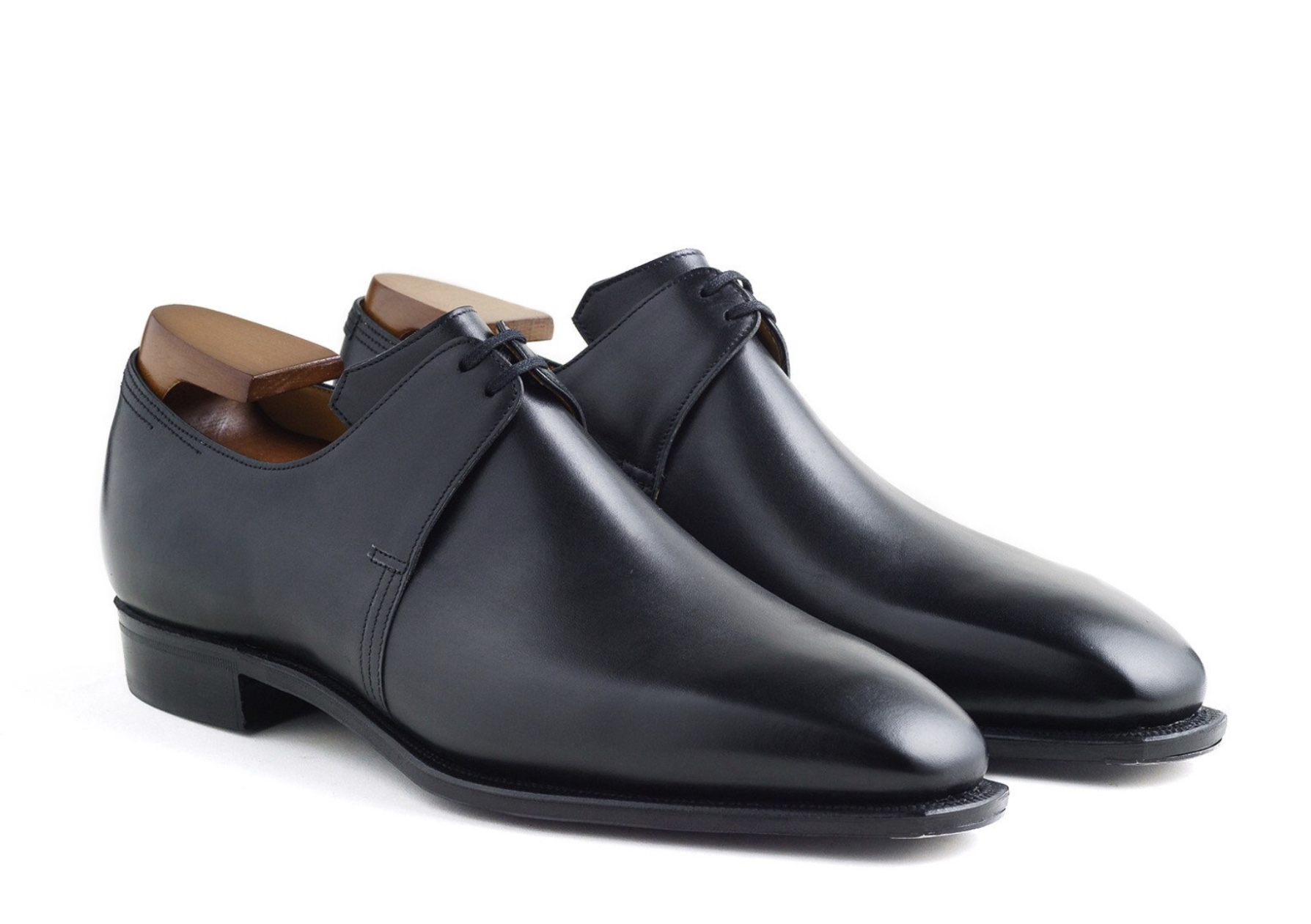 Corthay arca derby dress shoes Black calf