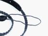 Black Braided Fabric Mandolin Strap