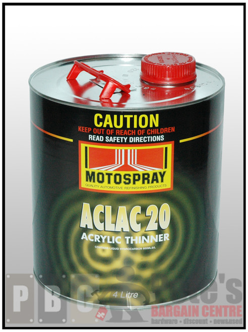 ACLAC 20   4 Litre Can