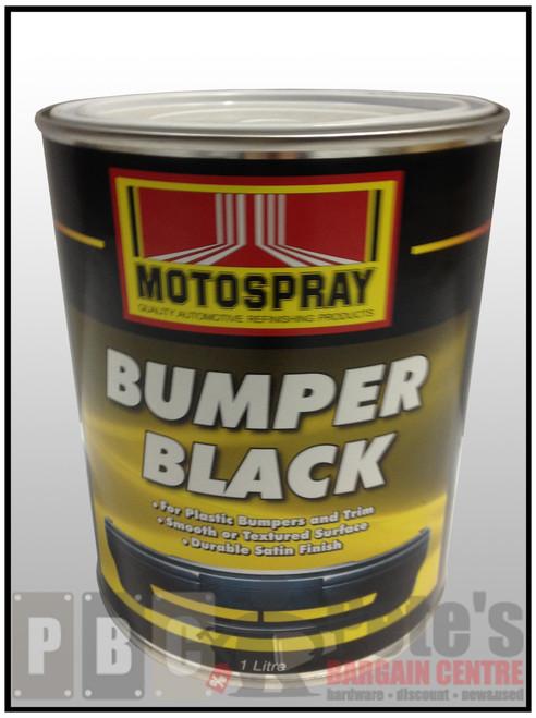 BUMPER BLACK    1 Litre Can