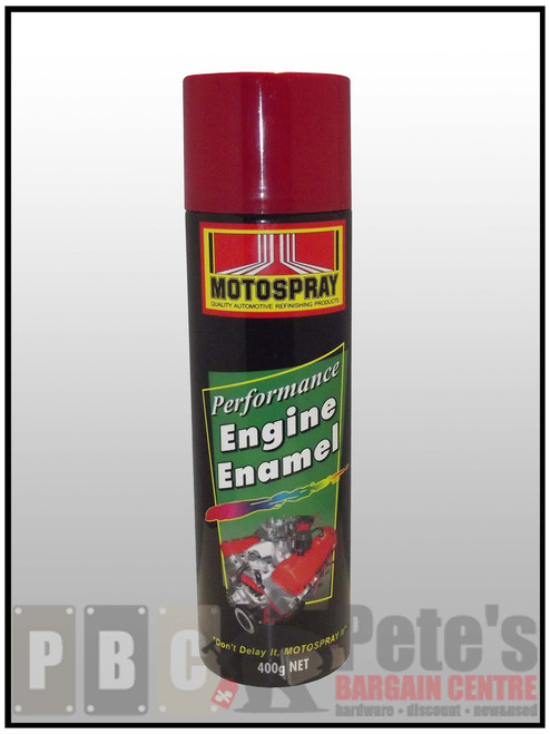 ENGINE ENAMELS    ***Aerosol ***    Holden Orange