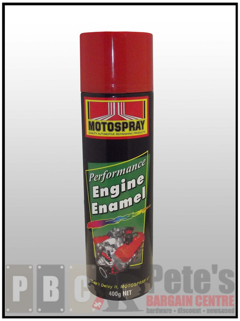 ENGINE ENAMELS    ***Aerosol ***    Holden Red