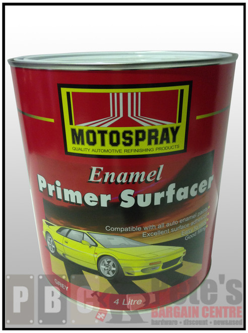 ENAMEL PRIMER SURFACER    4 Litre Can