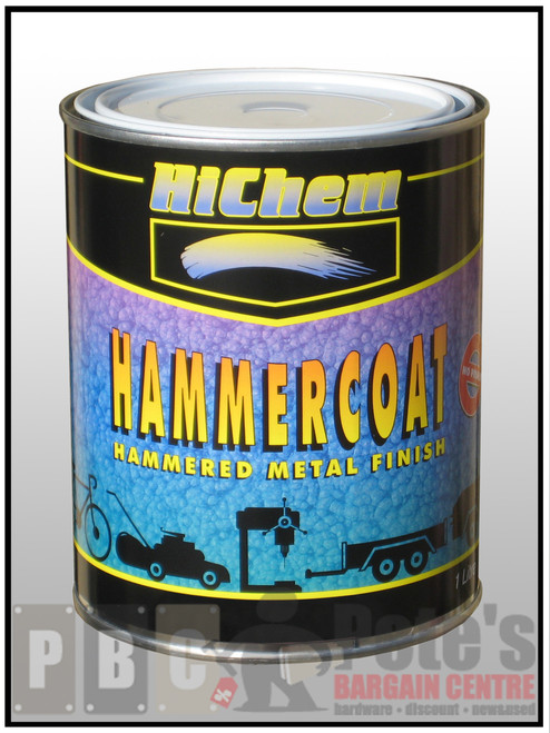 HAMMERCOAT Silver Grey 1 Litre Can
