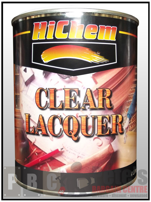 HIGUARD CLEAR LACQUER    100% 4 Litre Can