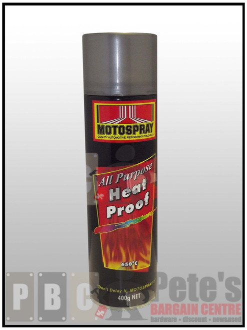 HEAT PROOF (AEROSOLS)    ***Aerosol ***    Flat Cast Iron