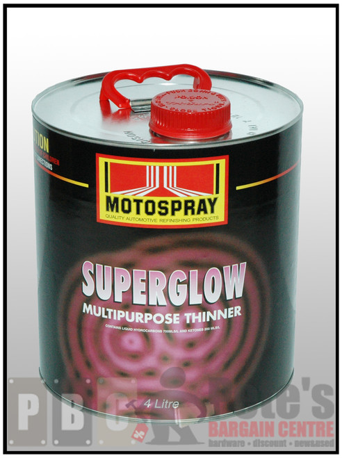 SUPERGLOW  4 Litre Can