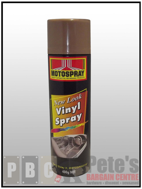 VINYL SPRAYS***Aerosol *** 400gm Satin Brown