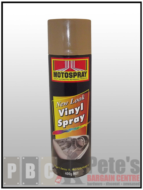 VINYL SPRAYS***Aerosol *** 400gm Satin Tan