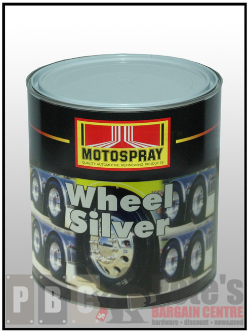 WHEEL SILVER  4 Litre Can