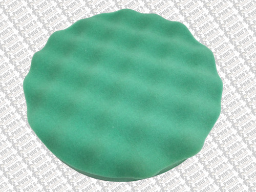 WAFFLE PADS - ( 200mm diameter velcro backed) GREEN FINE