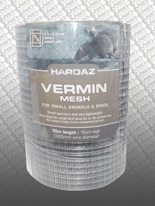 Vermin Mesh 150mm x 10mtr 6.5 x 6.5mm 0.65mm
