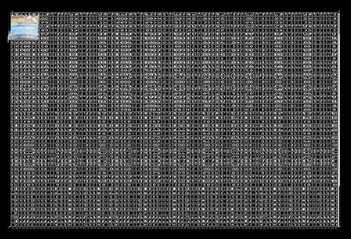 Wire Mesh Panels 1800x1200mm 25 x 25mm 2.5mm