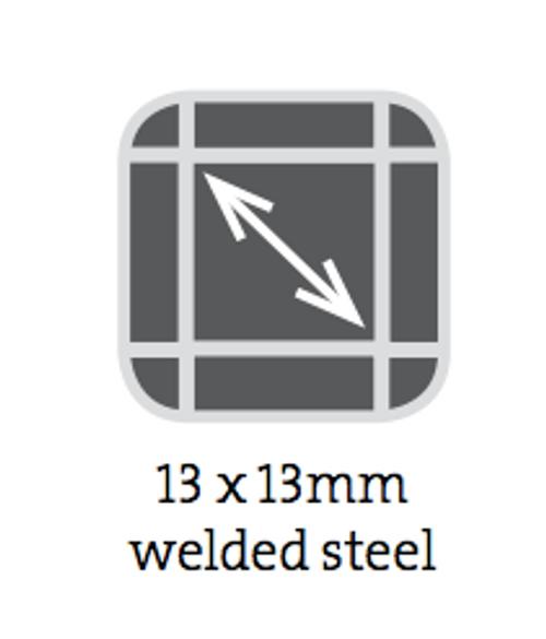 Wire Mesh Panels 900x600mm 13 x 13mm 1.5mm