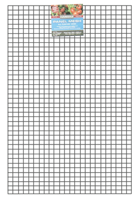 Wire Mesh Panels 900x600mm 25 x 25mm 2.20mm PVC Coated