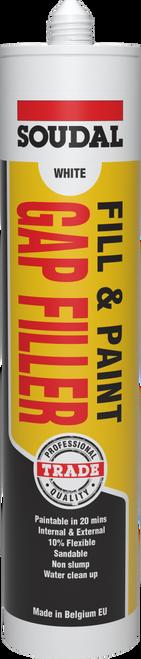 Fill & Paint Gap Filler -White- 300ml