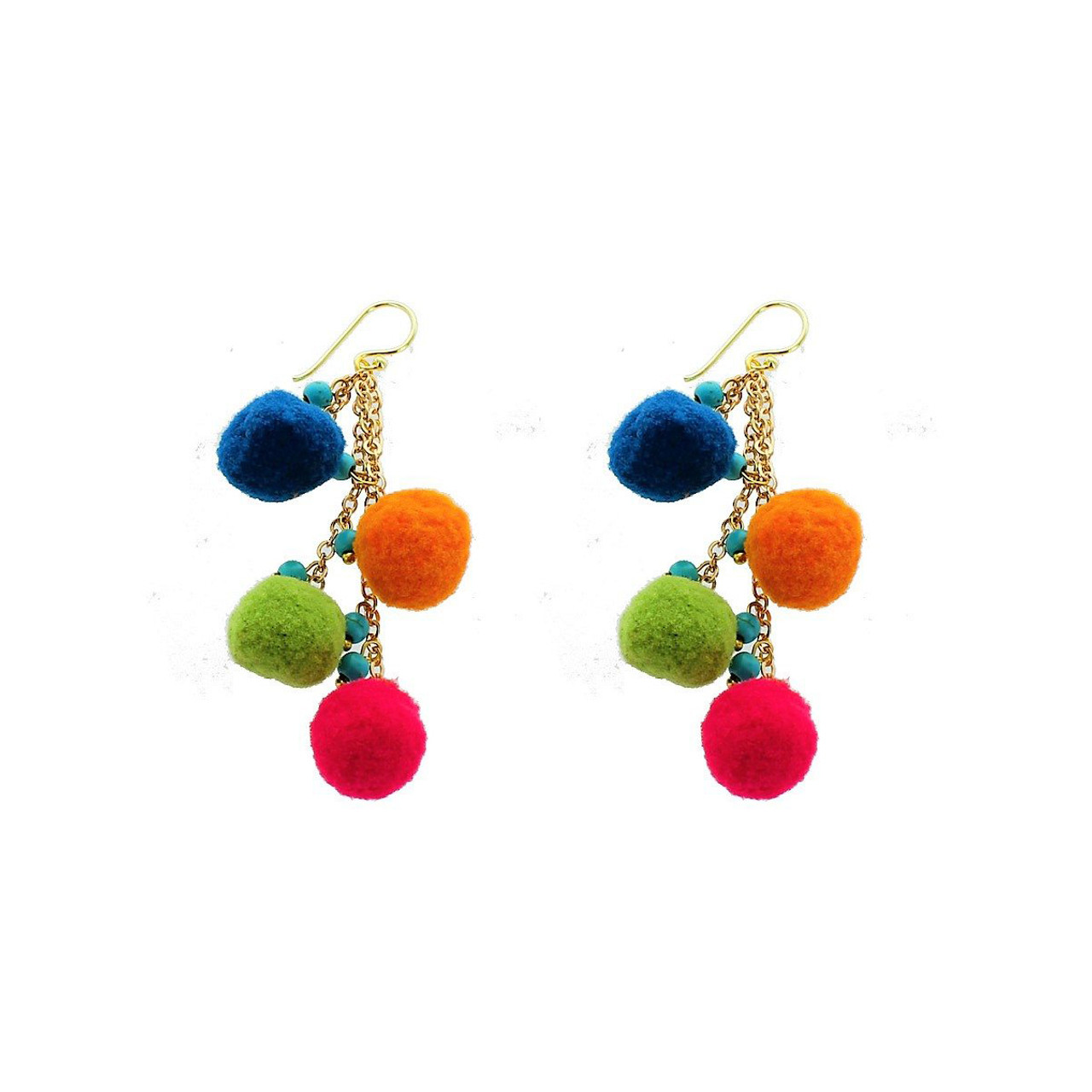 earrings aldazabal colored abf chandelier multi chanderlier blue