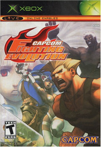 Capcom Fighting Evolution (XBOX)